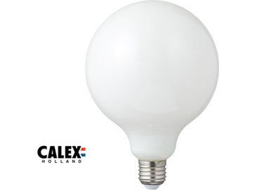 Ampoule globe LED E27, 8W compatible avec un variateur, opale