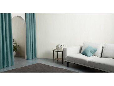 Marzia, une paire de rideaux à œillets 135 x 260 cm, bleu ciel