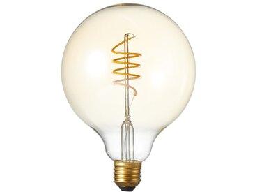 Ampoule globe à filaments LED E27, 4W compatible avec un variateur, doré