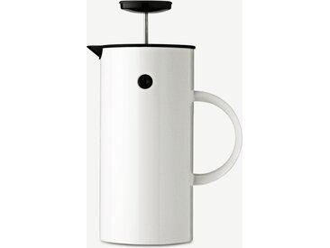 Stelton, cafetière à piston EM77, blanc
