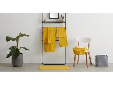 MADE Essentials - Cadu lot de 4 de bain serviettes 100% coton, jaune safran