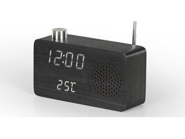 Odette, radio réveil numérique, noir