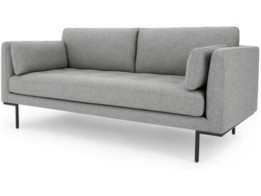 Harlow, grand canapé 2 places, gris montagne