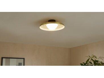 Garnass, plafonnier LED, laiton
