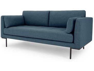 Harlow, grand canapé 2 places, bleu indigo