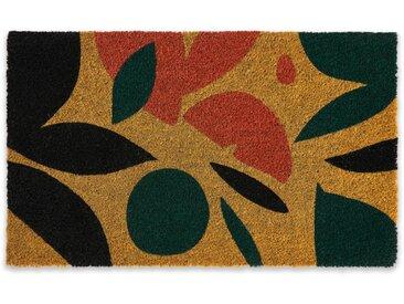 Azelma, paillasson en fibre de coco 45 x 75 cm, multicolore