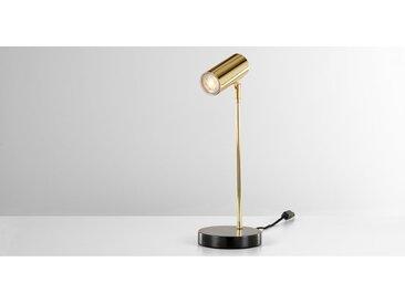 Obie, lampe de bureau, laiton