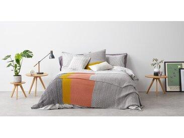 Digby, couvre-lit tricoté 100% coton 150 x 220 cm, multicolore