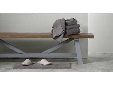 Aire lot de 4 serviettes de toilette, gris ardoise