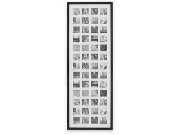 Diment, très grand cadre photo 52 vues, 133 x 48 cm, noir