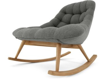 Kolton, rocking-chair, gris marne