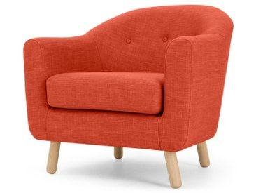 Lottie, fauteuil, orange toscan