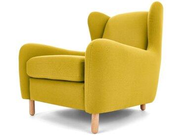Rubens, fauteuil bergère, vert mousse
