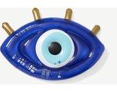 Sunny Life, matelas gonflable œil grec, bleu électrique