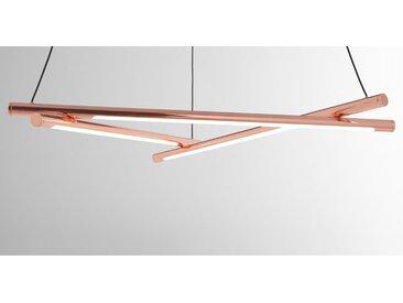 Linear, lustre LED, cuivre