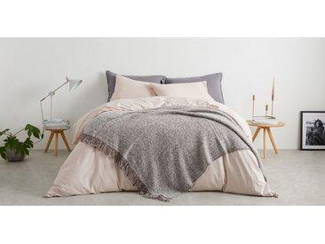 Marlow, plaid en laine mélangée 130 x 170 cm, rose