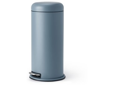 Minns, poubelle dôme 30L, bleu