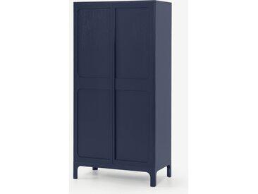 Bromley, vaisselier, bleu marine et gris