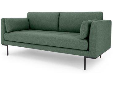 Harlow, grand canapé 2 places, vert chiné