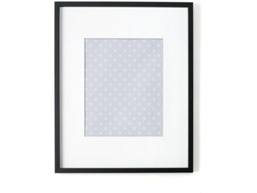 Portland, cadre photo 40 x 50 cm, noir avec passe-partout blanc 30 x 40 cm