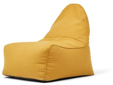 Ayra, fauteuil poire, jaune d'or