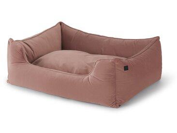 Kysler, très grand lit pour animal de compagnie, velours rose