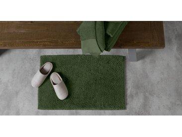 Aire, tapis de bain réversible, vert mousse