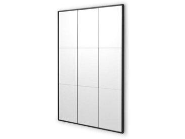 Ludlow, miroir industriel 70 x 100 cm, noir mat