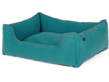 Kysler, très grand lit pour animal de compagnie, bleu canard