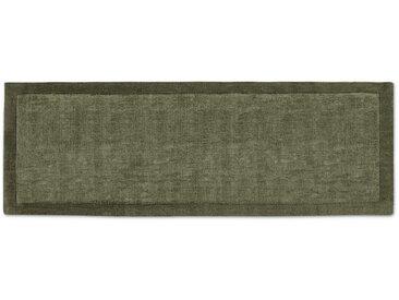 Jago, tapis de couloir 70 x 200 cm, vert mousse