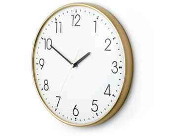 Disley, horloge murale, laiton poli