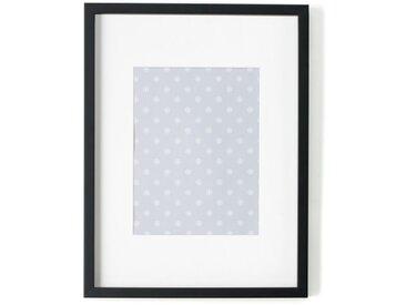 Portland, cadre photo 30 x 40 cm, noir avec passe-partout blanc 18 x 23 cm