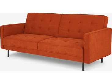 Rosslyn, canapé convertible clic-clac, orange Sedona