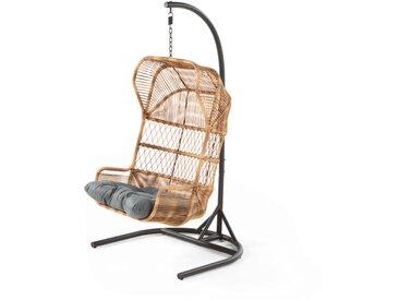 Lyra, fauteuil suspendu, gris