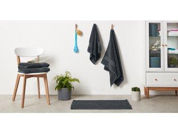 Jessa serviette essuie-mains 100 % coton égyptien, gris anthracite