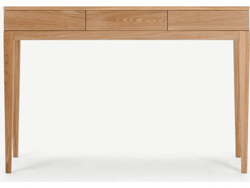 Vernay, une console, chêne