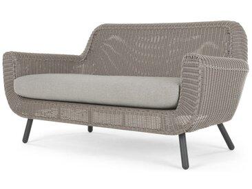 Jonah, canapé 2 places d'extérieur, gris clair