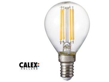 Ampoule petit globe LED E14, 3.5W compatible avec un variateur, transparent