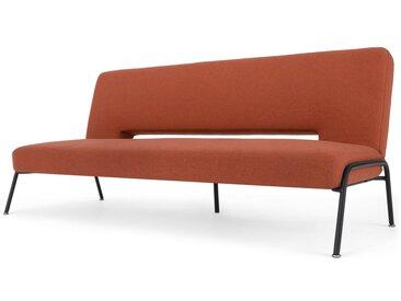 Knox, canapé convertible clic-clac, orange rétro