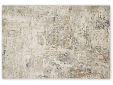 Epicoco, grand tapis luxueux en viscose 160 x 230 cm, doré antique