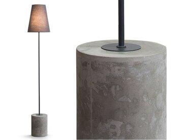 Ira, un lampadaire, gris Harrier