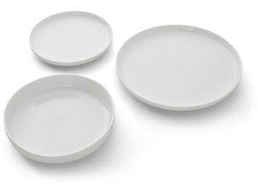 Leah, service de 12 pièces en porcelaine