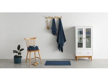 Jessa drap de bain 100% coton égyptien, bleu marine