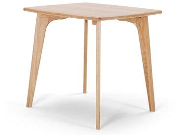 Fjord, table carrée, chêne