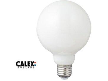 Ampoule globe LED E27, 6W  compatible avec un variateur, opale