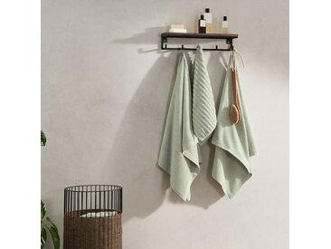 Alto, lot de 4 serviettes de bain, vert clair
