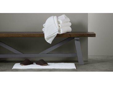Aire lot de 4 serviettes de toilette, blanc