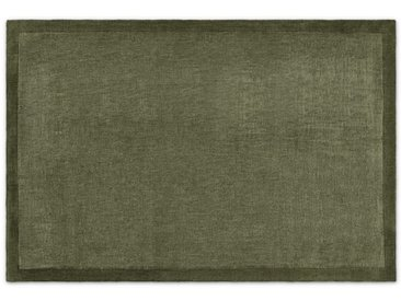 Jago, grand tapis 200 x 300 cm, vert mousse