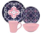 Set de vaisselle Floreal Hana 16 pièces