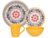 Set de vaisselle Floreal La Pollera 16 pièces